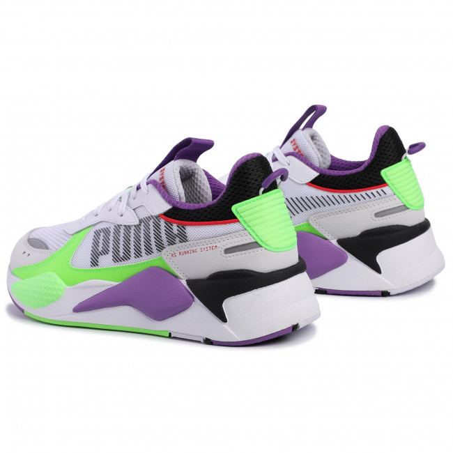 Sneakers PUMA - RS-X Bold 372715 02 White Gr/Gecko Royal Lilac  - Sneakers - Chaussures basses - Homme