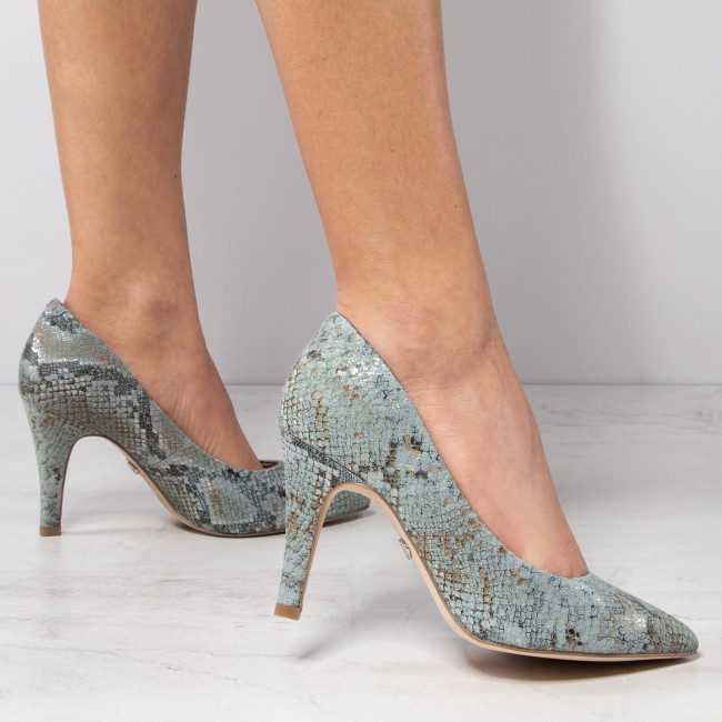 Chaussures basses CAPRICE - 9-22416-24 Skyblue Snake 896 - Escarpins - Chaussures basses - Femme
