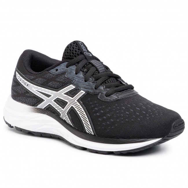 Chaussures ASICS - Gel-Excite 7 GS 1014A084 Black/White 001