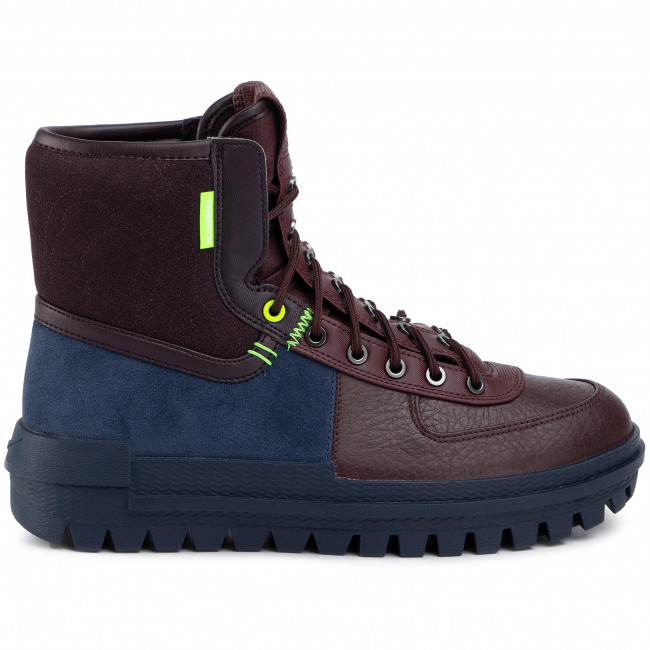 Chaussures NIKE - Xarr BQ5240 400 Obsidian/Electric Green - Sneakers - Chaussures basses - Homme