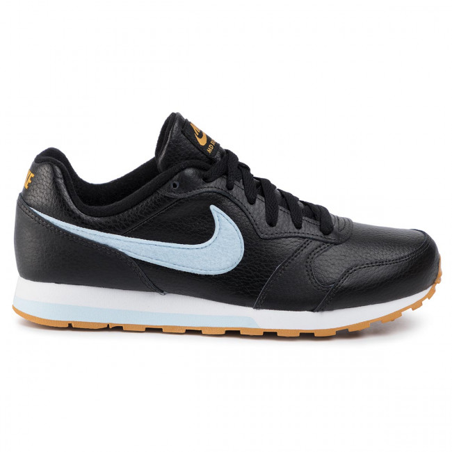 Chaussures NIKE Md Runner 2 Flt (GS) CI3907 001 BlackCelestine Blue