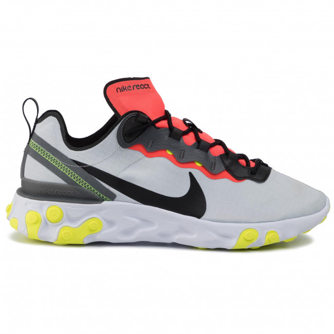 Chaussures NIKE React Element 55 Se BV1507 003 Pure PlatinumBlackDark Grey