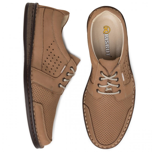 Chaussures basses KRISBUT - 5316-2-9 Beżowy - Détente - Chaussures basses - Homme