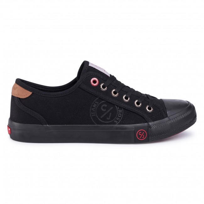 Sneakers Cross Jeans - Ff1r4054c Black Baskets Chaussures Basses Homme