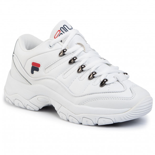 Sneakers FILA Strada Hiker Low 1010768.1FG White