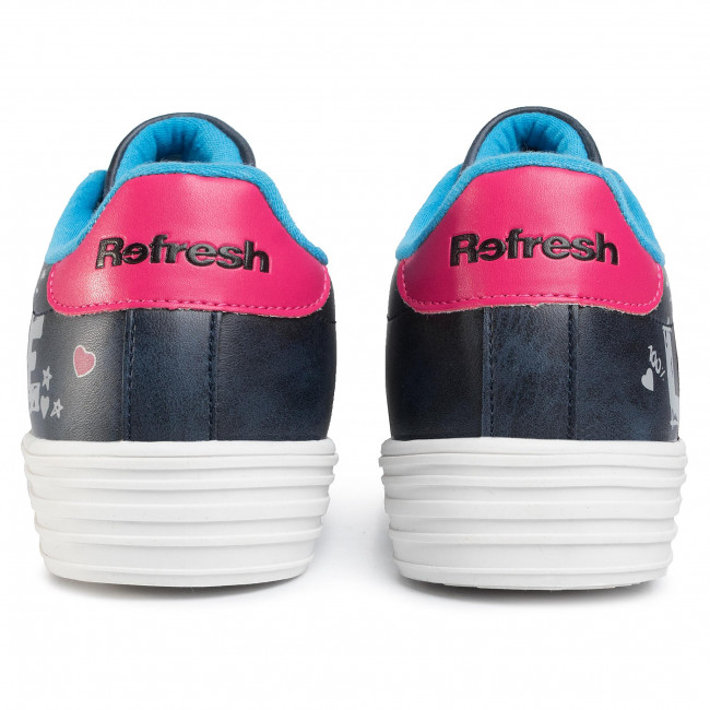 Sneakers Refresh - 69547 Navy Chaussures Basses Femme