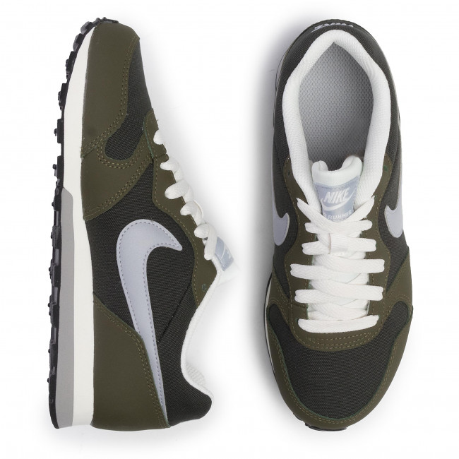 Chaussures NIKE - MD Runner 2 (GS) 807316 301 Sequoia/Wolf Grey/Olive Canvas - Sneakers - Chaussures basses - Femme