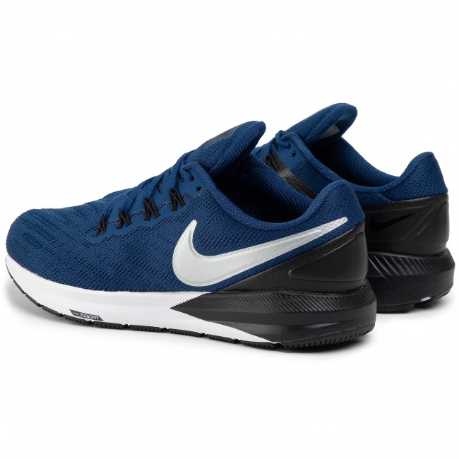 Chaussures NIKE Air Zoom Structure 22 AA1636 406 Coastal BlueChrome Black