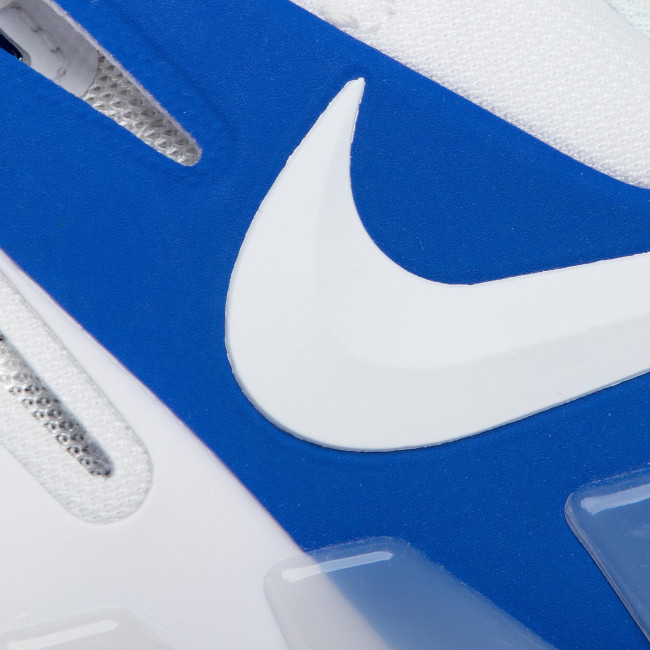 Chaussures NIKE - Air Zoom Vapor X Cly AA8021 103 White/White Game Royal - Tennis - Chaussures de sport - Femme