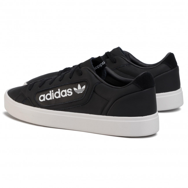 Chaussures Adidas - Sleek Ef4933 Cblack/crywht/ftwwht Sneakers Basses Femme