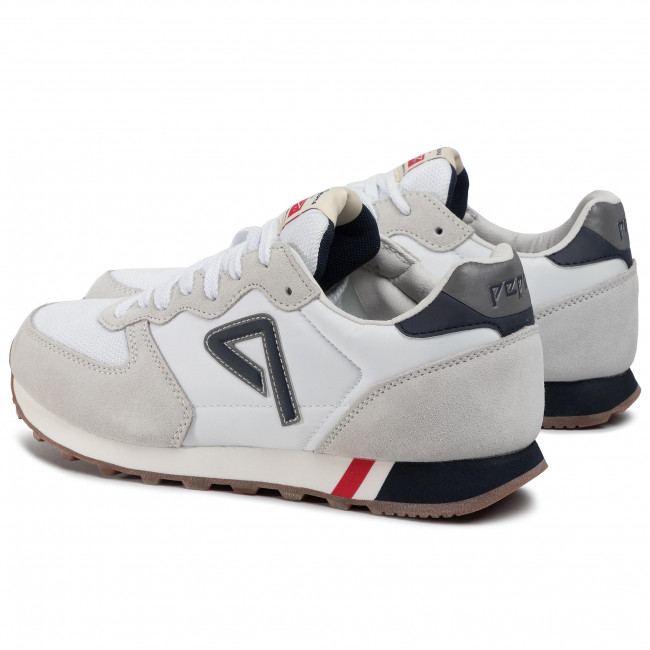 Sneakers PEPE JEANS - Klein Archive PMS30585 White 800 - Sneakers - Chaussures basses - Homme