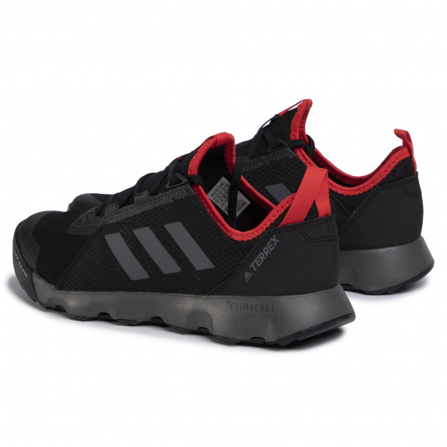 Chaussures adidas - Terrex Voyager Speed S.Rdy EG3486 Cblack/Grefou/Actred - Randonnée - Running - Chaussures de sport - Homme