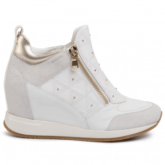 Sneakers GEOX D Nydame D D020QD 08522 C1352 WhiteOff White