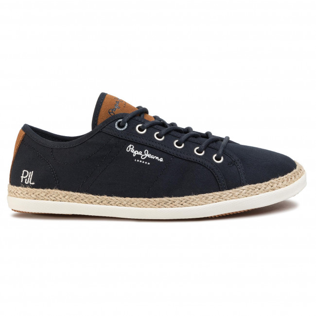 Espadrilles PEPE JEANS - Maui Basic PMS10280  Navy 595 - Espadrilles - Chaussures basses - Homme