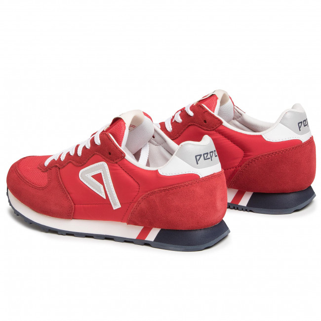 Sneakers PEPE JEANS - Klein Archive PMS30592 Factory Red 220 - Sneakers - Chaussures basses - Homme