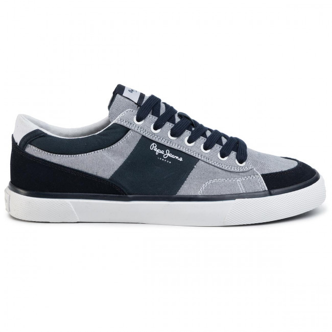 Tennis PEPE JEANS - Kenton Sport PMS30600 Chambray 564 - Baskets - Chaussures basses - Homme