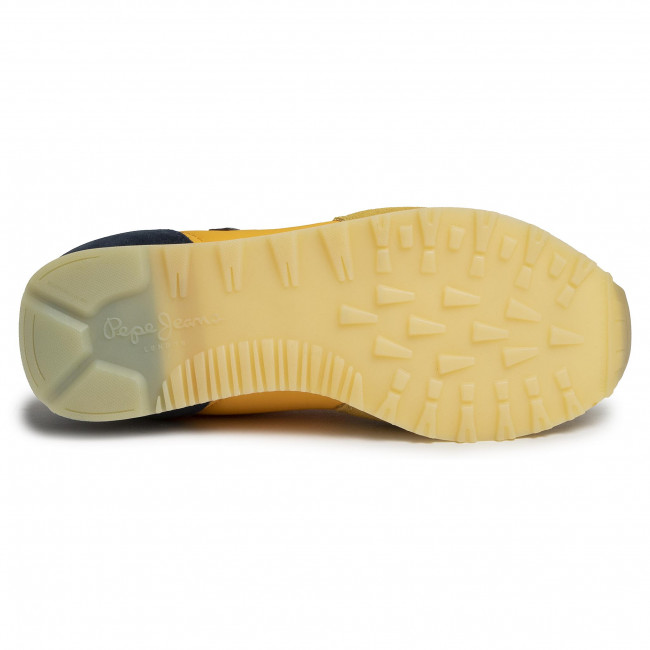 Sneakers PEPE JEANS - Klein Archive Summe PMS0610  Ochre Yellow 097  - Sneakers - Chaussures basses - Homme