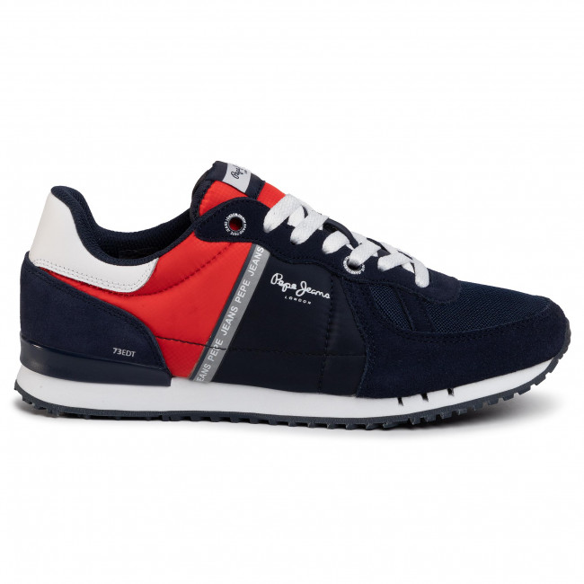 Sneakers PEPE JEANS - Tinker Zero PMS30612 Navy 595 - Sneakers - Chaussures basses - Homme