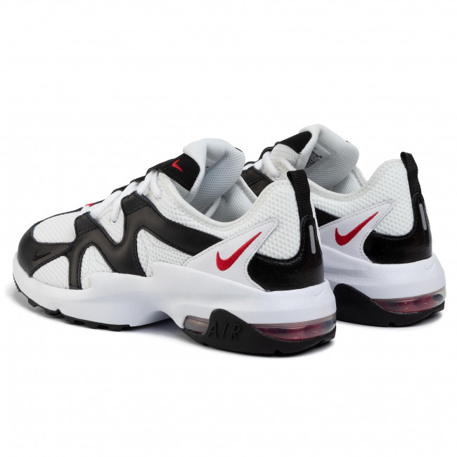 Chaussures NIKE - Air Max Graviton AT4525 100 White/University Red/Black - Sneakers - Chaussures basses - Homme