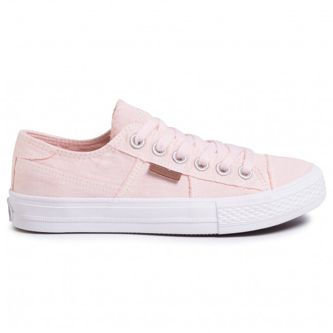 Tennis Dockers - 40th201-790765 Rose/white Baskets Chaussures Basses Femme