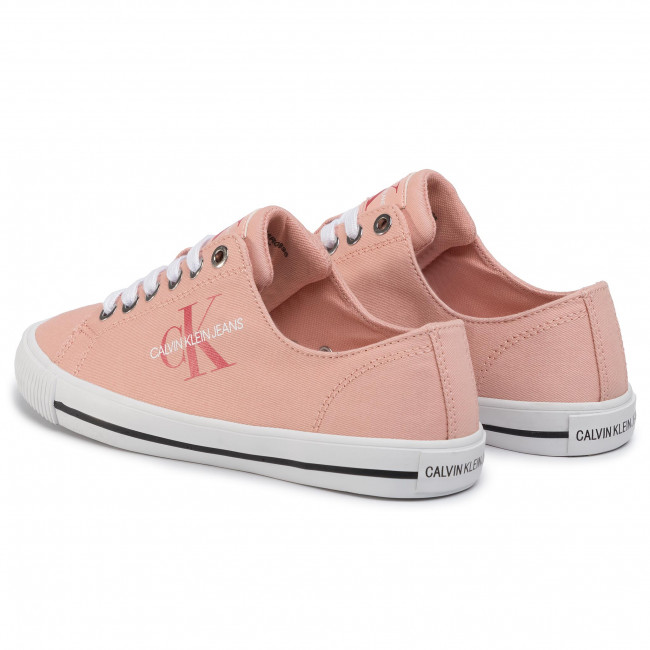 Tennis CALVIN KLEIN JEANS - Diamante B4R0896 Light Peony - Baskets - Chaussures basses - Femme
