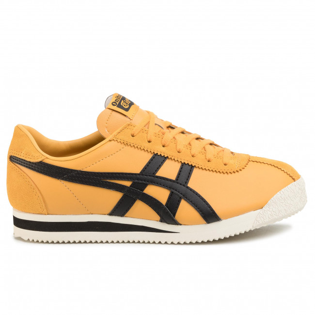 Sneakers Onitsuka Tiger - Corsair 1183a357 Yellow/black 750 Chaussures Basses Femme