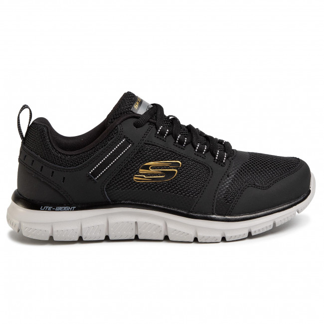 Chaussures SKECHERS - Knockhill 232001/BKGD Black/Gold - Fitness - Chaussures de sport - Homme