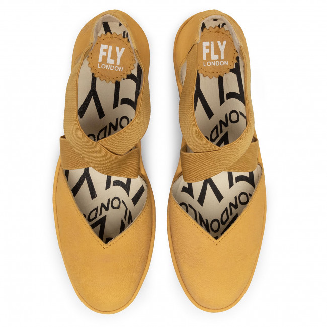 Chaussures Basses Fly London - Pacofly P501147001 Bumblebee Talons Compensés Femme