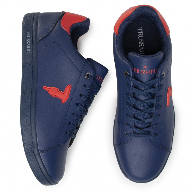 Sneakers TRUSSARDI JEANS - 77A00241 U709 - Sneakers - Chaussures basses - Homme