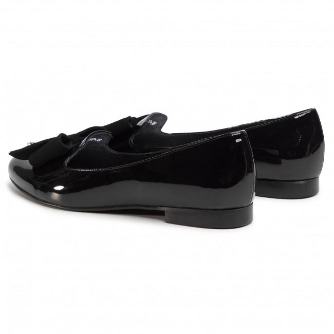 Loafers Karino - 3297/090 Czarny Lakier Chaussures Basses Femme