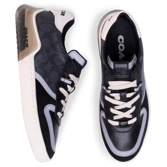 Sneakers Coach - Ctysl Sig Crt G5015 10011275 Charcoal/black Chaussures Basses Homme
