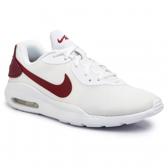 Chaussures NIKE Air Max Oketo AQ2235 101 WhiteUniversity Red