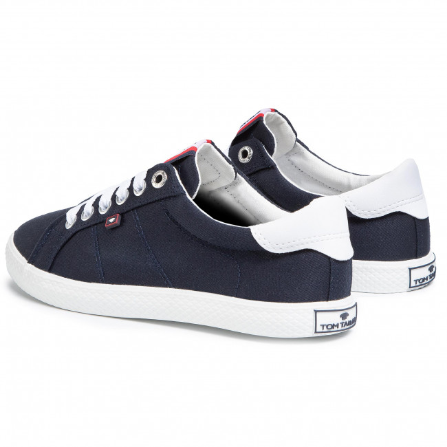 Tennis Tom Tailor - 8091001 Navy Baskets Chaussures Basses Femme