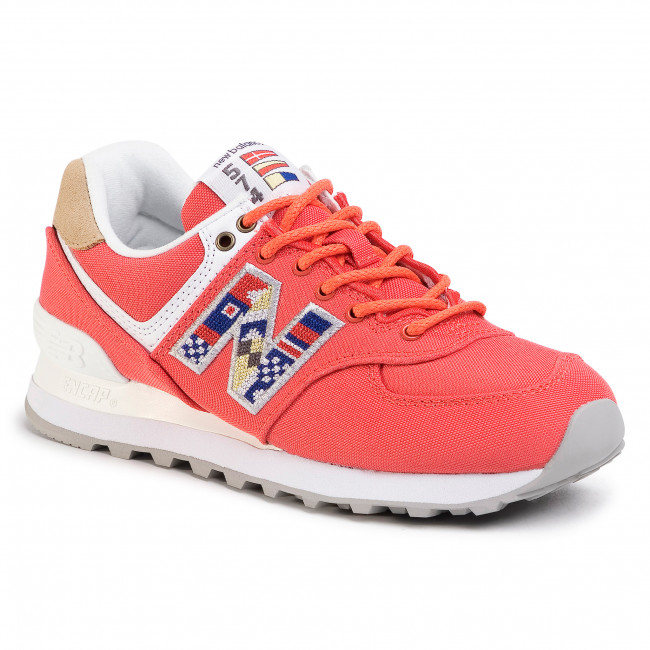 chaussures new balance femme rouge