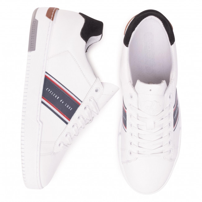 Sneakers Cycleur De Luxe - Bruce Cdlm201070 White Chaussures Basses Homme
