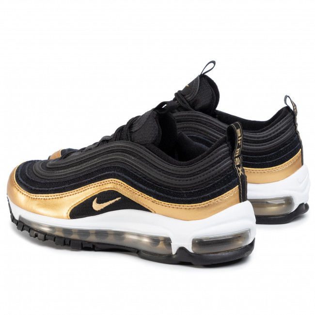 Chaussures NIKE Air MAx 97 (GS) 921522 014 BlackMetallic Gold