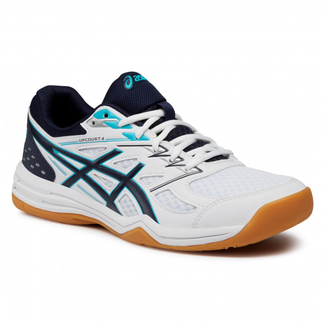 Chaussures ASICS - Upcourt 4 1071A053 White/Peacoart 100