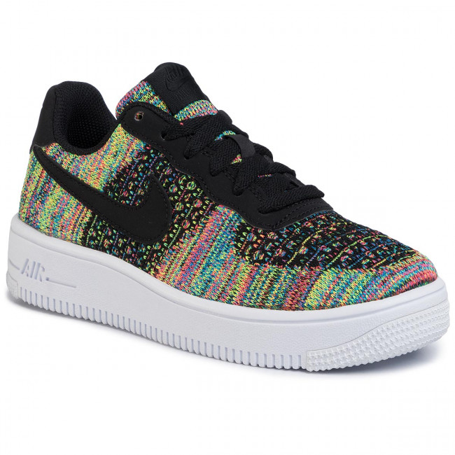 Chaussures NIKE Air Force 1 Flyknit 2.0 (Gs) BV0063 002