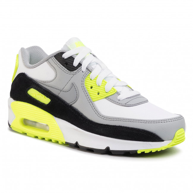 Chaussures NIKE Air Max 90 Ltr (GS) CD6864 101 WhiteParticle Grey