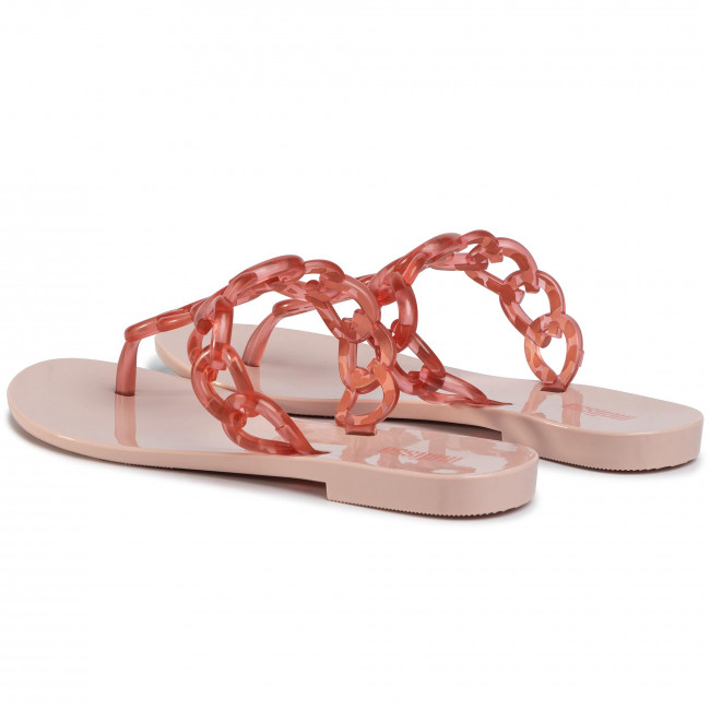 Offres abordables Tongs MELISSA - Big Chain Ad 32892 Pink/Transparent Pink 53709 - Tongs - Mules et sandales - Femme  Prendre plaisir