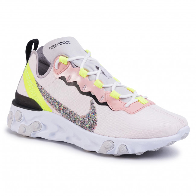 Chaussures NIKE React Element 55 Prm CD6964 600 Light Soft Pink