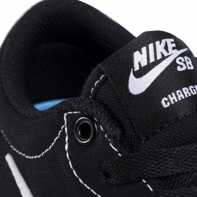 Chaussures NIKE - Charge Cnvs (GS) CQ0260 001 Black/White - Sneakers - Chaussures basses - Femme