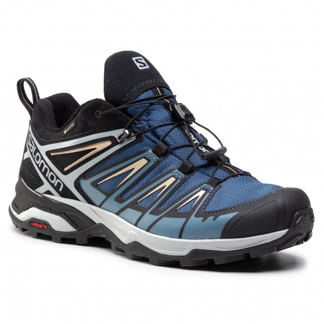 Chaussures de trekking SALOMON - X Ultra 3 Gtx GORE-TEX 411685 27 W0 Dark Denim/Copen Blue/Pale Khaki