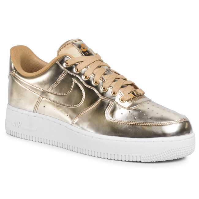 air force 1 femme metallic