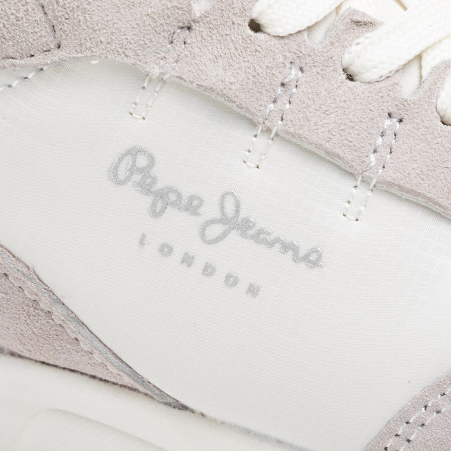 Sneakers Pepe Jeans - N22 Summer Pls31007 Optic White 802 Chaussures Basses Femme