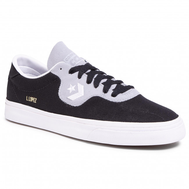 Tennis Converse - Louie Lopez Pro Ox 167620c Black/wolf Grey/white Baskets Chaussures Basses Homme