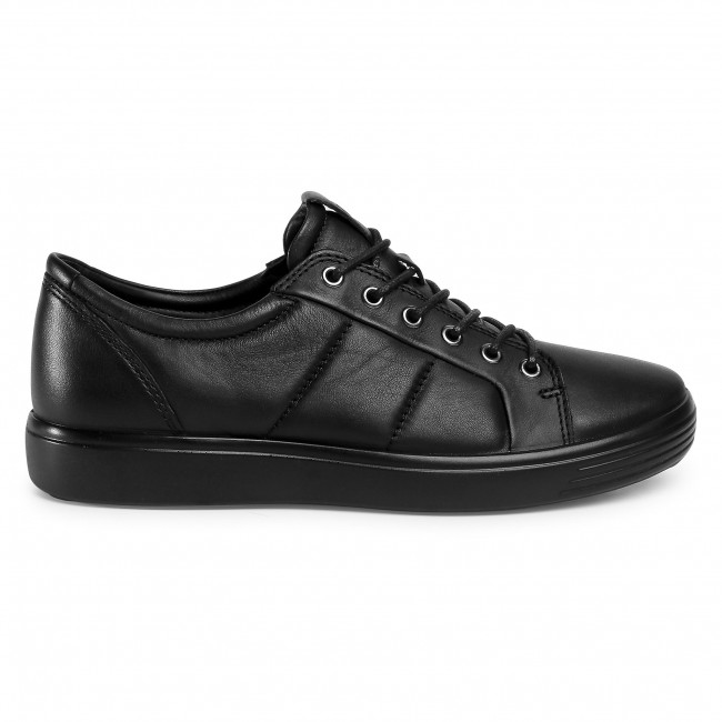 Sneakers Ecco - Soft 7 M 47014401001 Black Chaussures Basses Homme