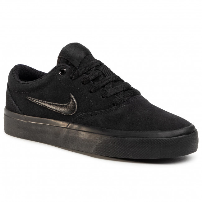Chaussures NIKE - Sb Charge Suede (Gs) CT3112 001 Black/Black/Black