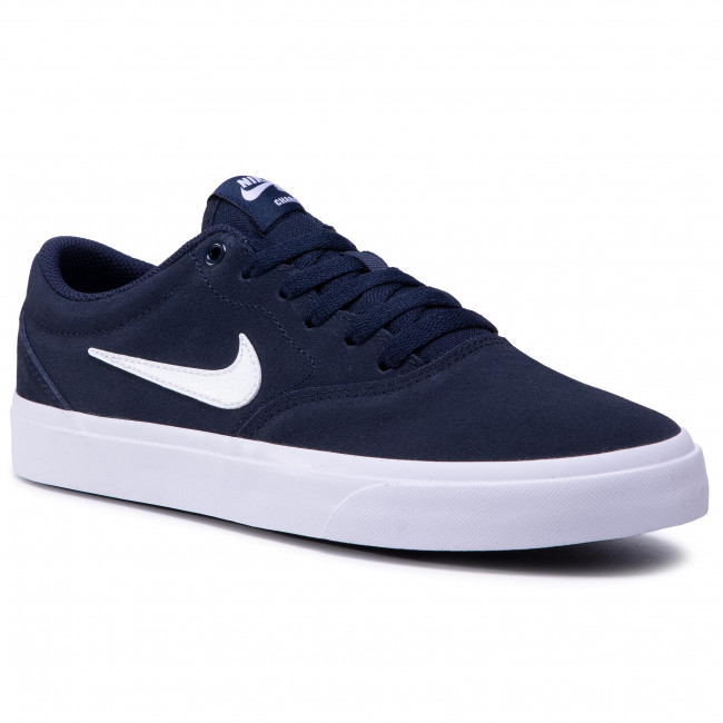 Chaussures NIKE - Sb Charge Suede (Gs) CT3112 400 Obsidian/White/Obsidian/Black