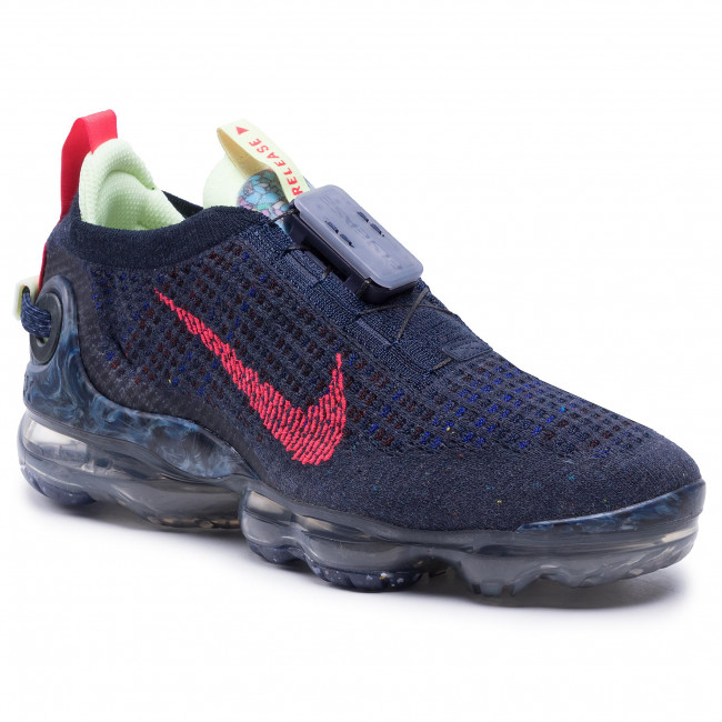 Chaussures NIKE - Air Vapormax 2020 Fk CW1765 400 Obsidian/Siren Red/Barely Volt